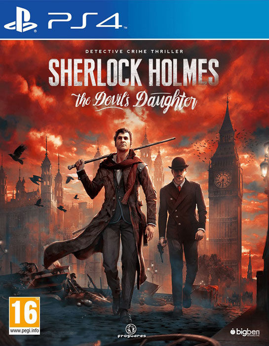 Sherlock Holmes: The Devil's Daughter PS4