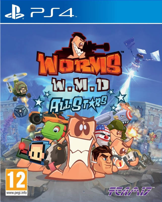 Worms W.M.D. All Stars PS4