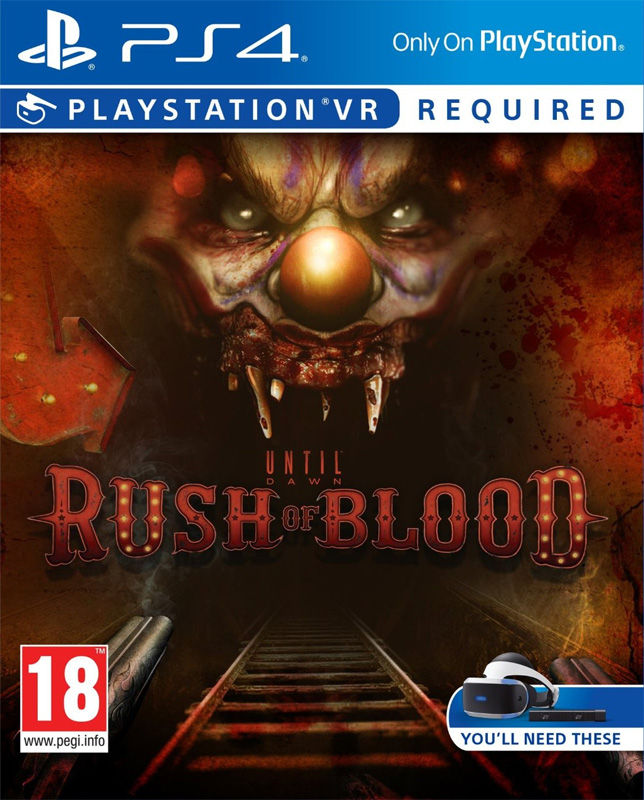 Until Dawn: Rush of Blood VR PS4 - vyžaduje Playstation VR