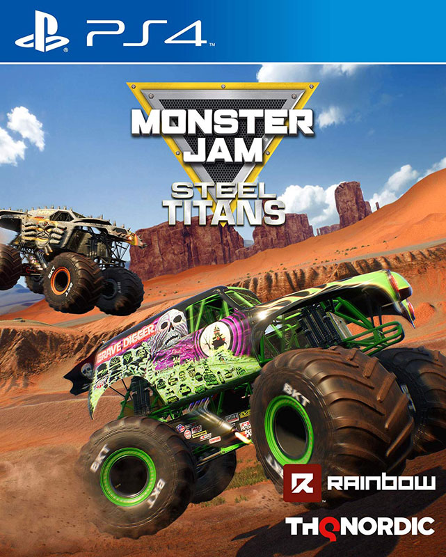 Monster Jam: Steel Titans PS4