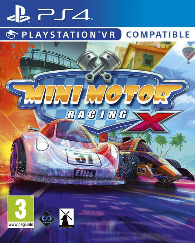 Mini Motor Racing X PS4