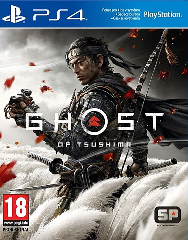 Ghost of Tsushima PS4 (CZ)