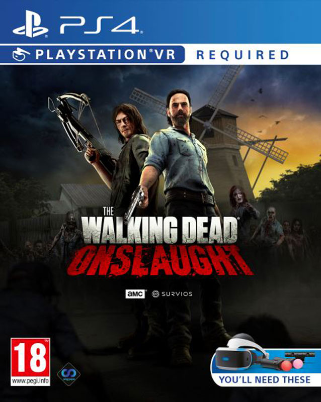 The Walking Dead: Onslaught VR PS4 - vyžaduje Playstation VR