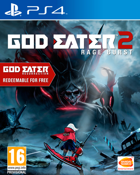 God Eater 2: Rage Burst PS4