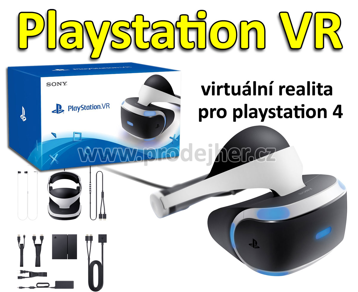 Playstation VR + hra VR Worlds
