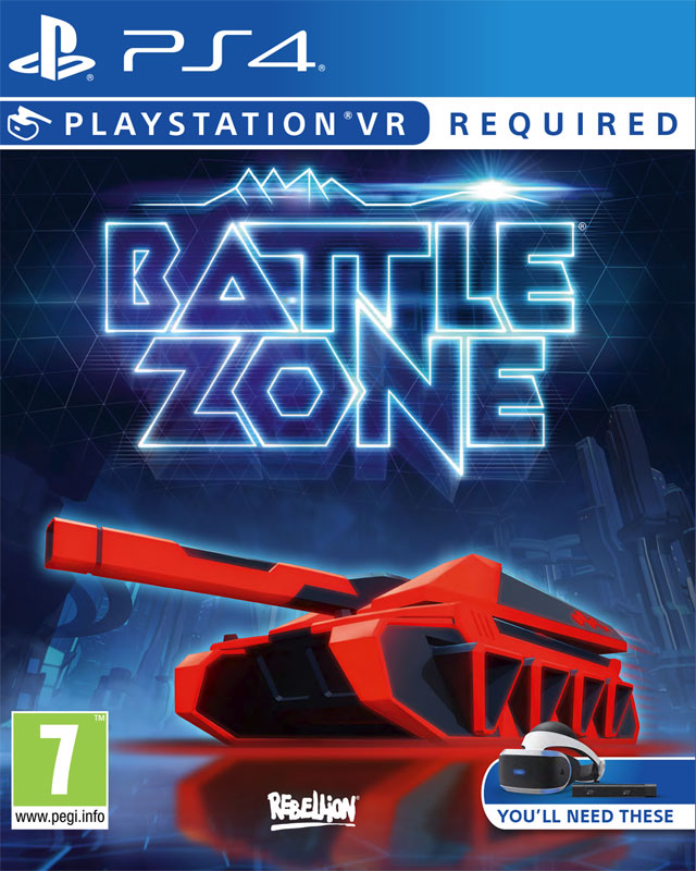 Battlezone VR PS4 -- vyžaduje Playstation VR