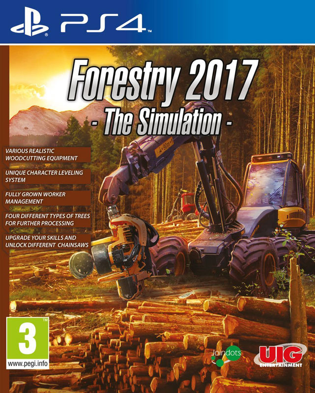 Forestry 2017: The Simulation PS4