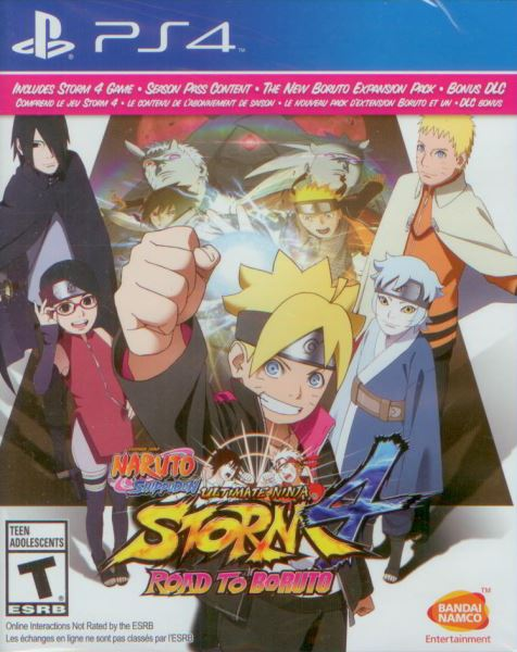 Naruto Shippuden: Ultimate Ninja Storm 4: Road to Boruto PS4