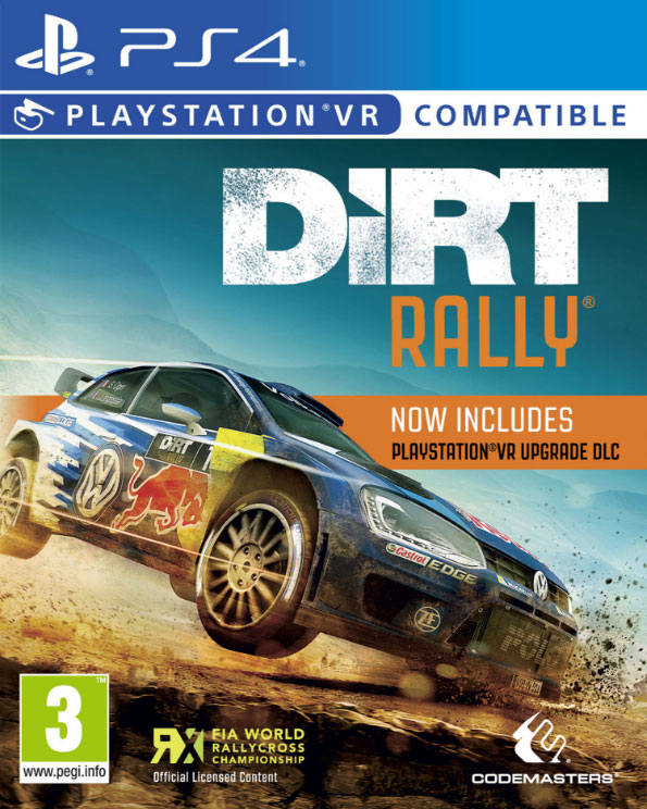 Dirt Rally VR PS4