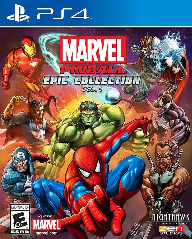 Marvel Pinball Epic Collection Volume 1 PS4