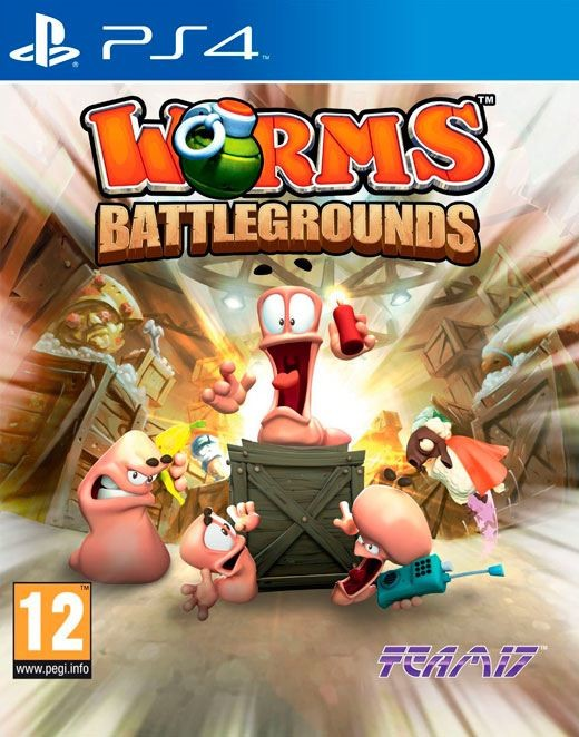 Worms Battlegrounds PS4