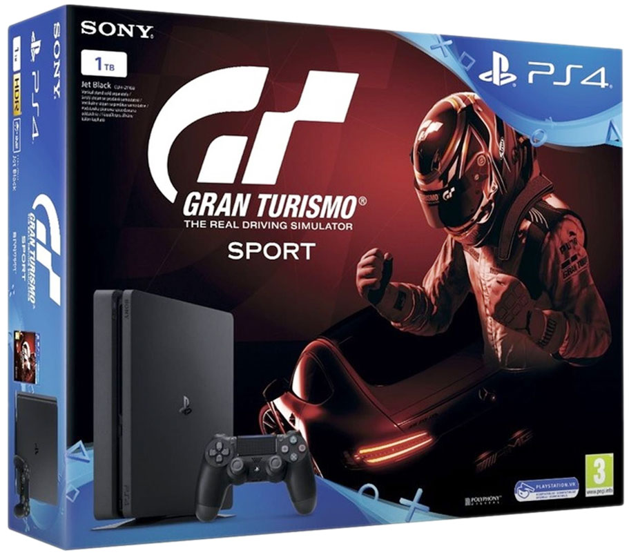 Playstation 4 Slim 1TB + Gran Turismo Sport