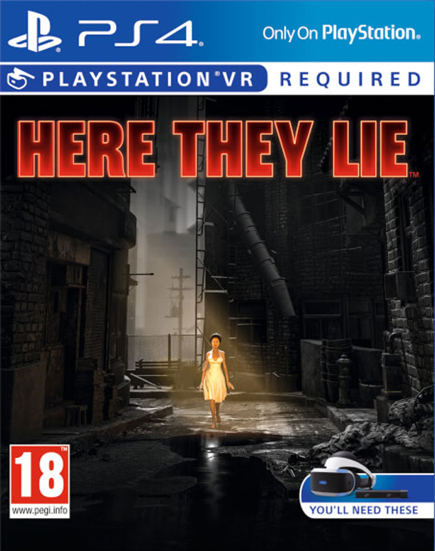 Here They Lie VR PS4 - vyžaduje Playstation VR