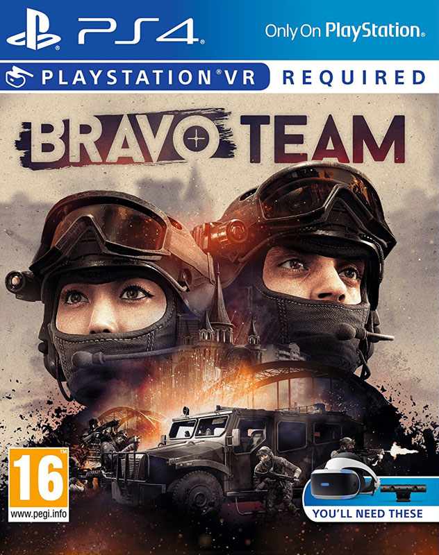 Bravo Team VR PS4 - vyžaduje Playstation VR