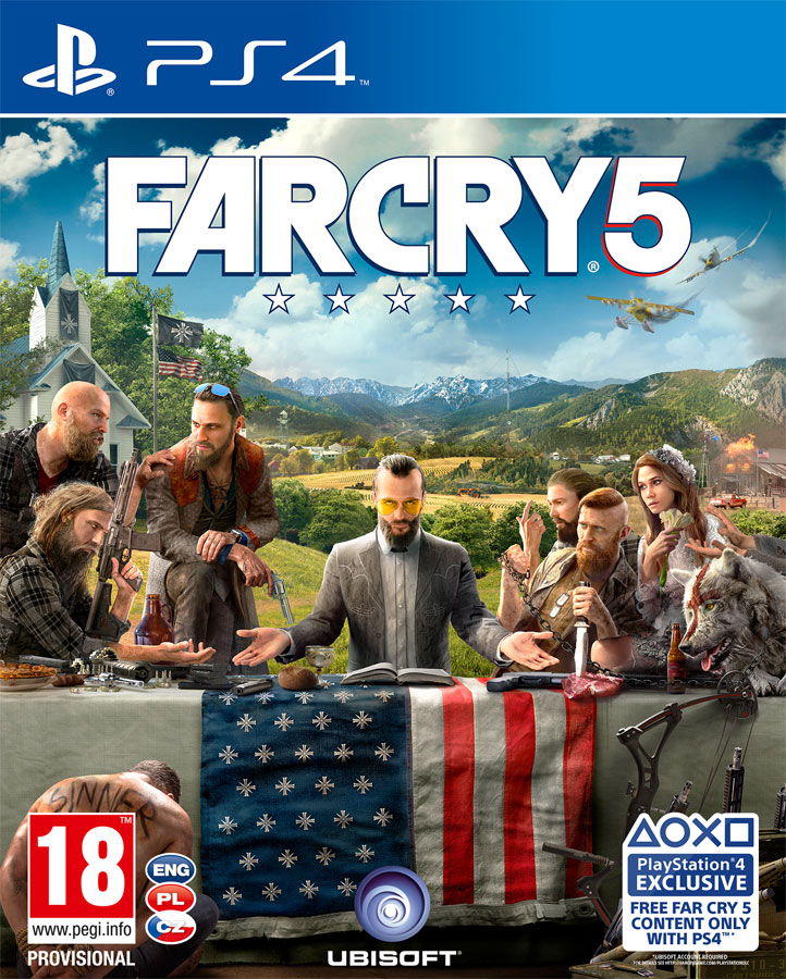 Far Cry 5 PS4 CZ