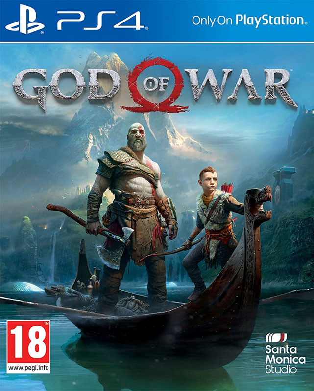 God of War PS4 CZ