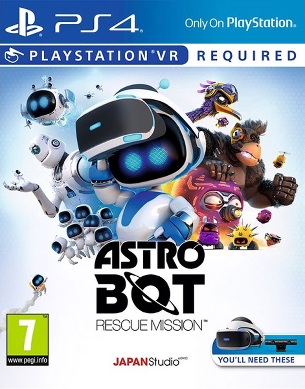 Astro Bot Rescue Mission VR PS4 - vyžaduje Playstation VR