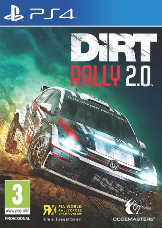 Colin Dirt Rally 2 PS4