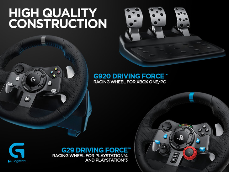 Logitech G29 Driving Force volant pro Sony Playstation 4