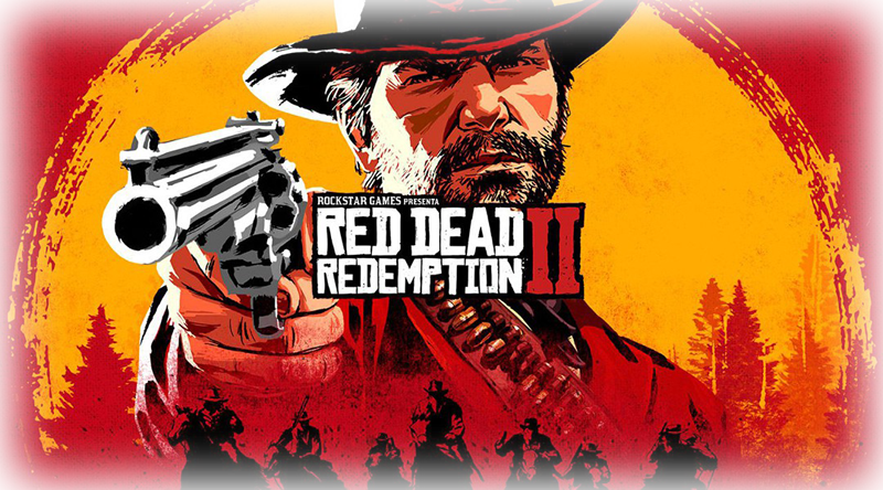 Red Dead Redemption 2 hra na Sony PS4 herní konzole