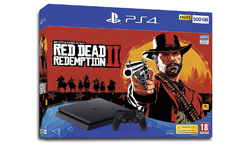 Playstation 4 Slim Red Dead Redemption 2 bundle