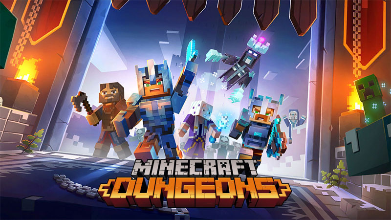 Minecraft Dungeons PS4 hra