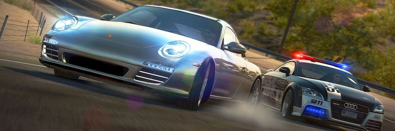 Need for Speed Hot Pursuit adrenalinové závody na Sony PS4