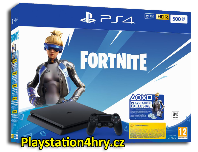 Playstation 4 Slim Fortnite Neo Versa bundle