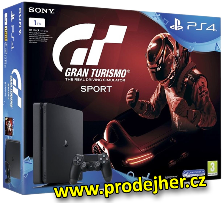 Playstation 4 Slim 1 TB Gran Turismo Sport bundle