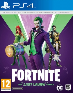 Fortnite The Last Laugh Bundle PS4 hra